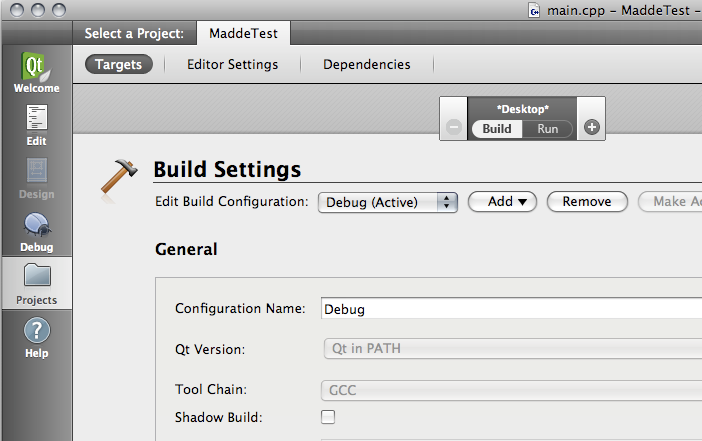 MADDE/QtCreator integration for Mac - maemo org wiki