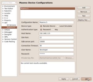 MADDE/QtCreator integration for linux - maemo org wiki